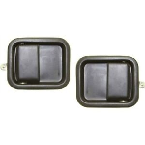 Exterior Door Handle For 81 85 Jeep Scrambler Front Left And Right Set Of 2