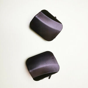 1 Pair Front Bumper Tow Hook Eye Cover Cap For Toyota Highlander 2008 2009 2010