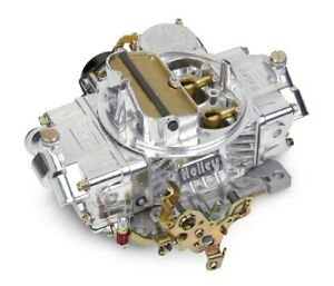 Holley 0 80458sa 600cfm Vacuum Secondary Street Aluminum Carburetor