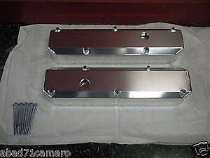 318 340 360 Mopar Dodge Fabricated Aluminum Valve Covers With Holes