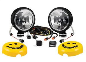6 Daylighter With Gravity Led G6 Sae Driving Beam Black Pair Pack 653 Kc Hilites