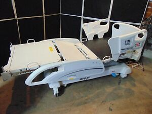 Stryker 2141 Hospital Medical Bed Works Good S4470