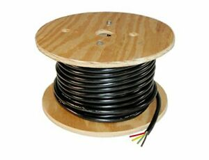 4 wire Trailer Lighting Cable 04923 Red yellow green brown 100 Feet