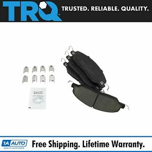 Trq Front Posi Ceramic Disc Brake Pads For Ford Mustang New