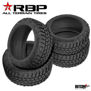 4 X New Rbp Repulsor M T Rx 114q All Season Off Road Tire