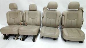 Front Rear Seats 2003 2005 2006 An3 Option Escalade Avalanche Seats Leather
