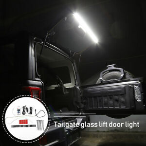 Led Tailgate Glass Lift Gate Light Flexible Strip For Jeep Wrangler Tj Jk Jl 97