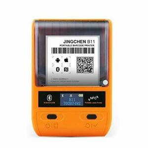 Jc B11 Handheld Portable Bluetooth Thermal Label Printer For Ios Or Android