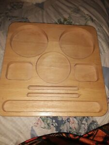 Solid Wood Organizing Desk Tray Really Is The Tray For The S mores Wizard Server