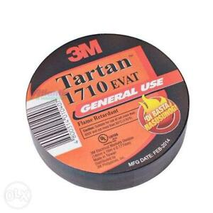 3m 1710 Electrical Tape Industrial Pack 30 Roll s Flame resist Free Ship Usa