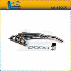 Engine Stainless Racing Manifold Header exhaust For 1991 Bmw 318i 318is Base