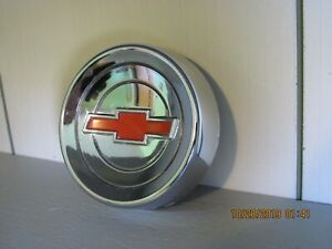 60 66 Gm Chevrolet Chevy Truck Horn Button C 10 C 20 C 50 C 60 Great Condition