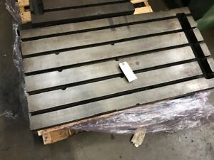 22 3 4 X 43 T slotted Table Welding Table Layout Table Sub plate 5 thick