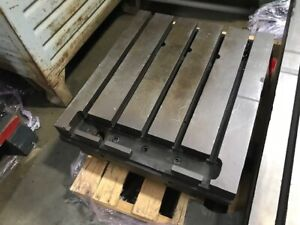 22 3 4 X 26 T slotted Table Welding Table Layout Table Sub plate 5 thick