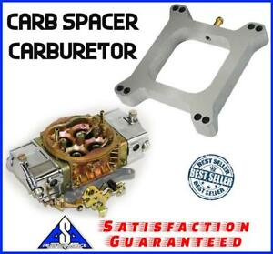 1 Aluminum Carb Spacer Carburetor Pro Series Port Fits Holley Edelbrock Chevy