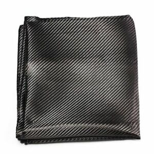 Carbon Fiber Fabric 2x2 Twill 3k Linear Yarn Smooth For Commercial Automotive