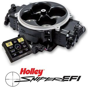 Holley Sniper Efi 550 842 Fuel Injection System Stealth 4500 Black 800 1500hp