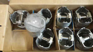 302 Chevy Forged Pistons L2210a Standard Bore Set Of 8