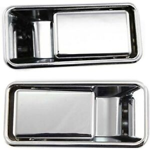 Exterior Door Handles Set Of 2 Front Left and right Lh Rh For Wrangler Pair
