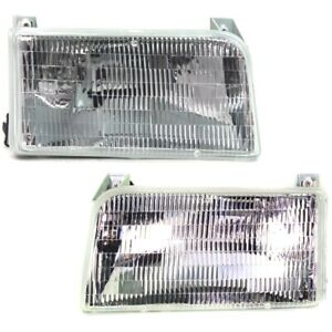 Fo2503114c Fo2502118c Headlight Lamp Left And Right For Truck F150 F250 F350