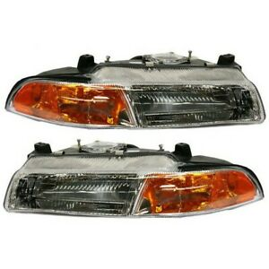 4630872ab 4630873ab Ch2503110 Ch2502110 Headlight Lamp Left and right Lh