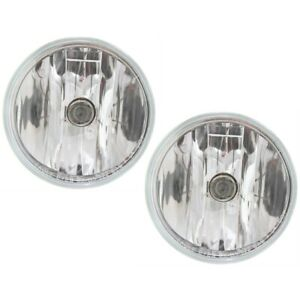 Fog Light For 2007 2012 Gmc Acadia Front Driver And Passenger Side Set Of 2 Capa