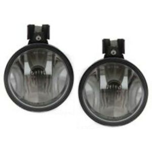 Fog Lights Lamps Set Of 2 Front Left and right Lh Rh Gm2592122 10443843 Pair