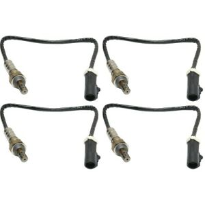 Set Of 4 O2 Oxygen Sensors Front Rear Left And Right Downstream For E150 Van