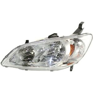 Headlight Lamp Left Hand Side Driver Lh Coupe Sedan Ho2502121 33151s5aa51