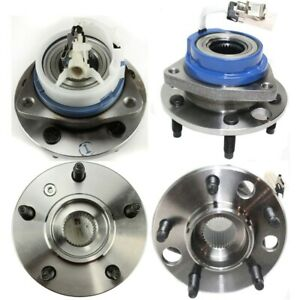 12429204 Set Of 4 Wheel Hubs Front Rear Left And Right For Chevy Lh Rh Venture