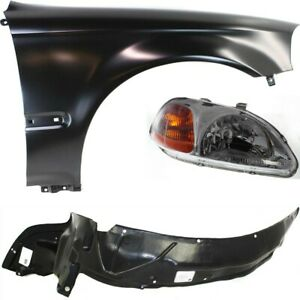 Auto Body Repair Kit Right Hand Side Passenger Rh For Honda Civic 1996 1998