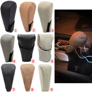 Universal Auto Car Gear Shift Knob Cover Shifter Lever Knob Boot Protect No Slip