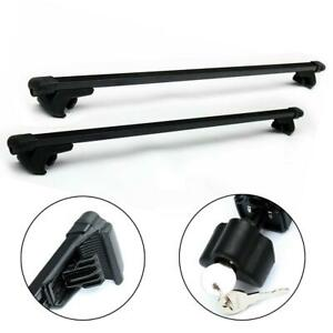 Universal Car Top Roof Rack Cross Bars Luggage Carrier Mount Fits Most Vehicles