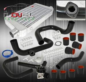 99 00 Civic 2 5 Piping Kit Jdm Vip Fmic Drift Intercooler Power Billet Bov