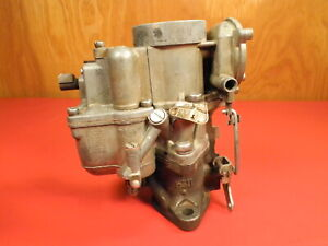 Carter 1949 1952 Studebaker 715s Carter We Studebaker Champion Lark Carburetor