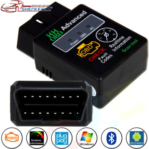 Elm327 Vehicle Hh Odb Odb2 Advanced Bluetooth Car Auto Diagnostic Scanner Tool K