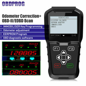 Obd2 Mileage Adjustment Correction Reset Tool Auto Immo Key Programmer Scanner