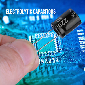 990pcs 0 1 To 1000uf 36 Values Electrolytic Radial Capacitor Assortment 10 50v