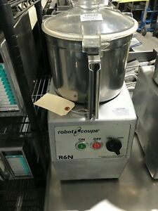 Robot Coupe R6n Food Processor Heavy Duty 3phase
