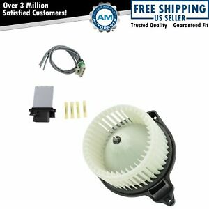 A C Ac Heater Blower Motor W Fan Cage Resistor Kit For Toyota Tacoma