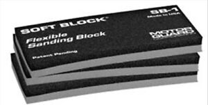 Soft Block Flexible Sanding Block 3 Pack Motor Guard Sb3 Mot