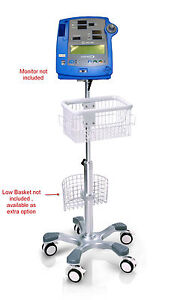 Rolling Stand For Dinamap Pro 100 300 400 Monitor New big Wheel