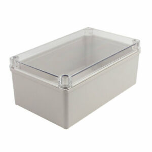250x150x100mm Clear Cover Junction Electronic Project Box Enclosure