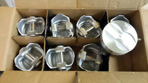 400 Pontiac Forged Pistons L2262f Standard Bore Set Of 8