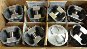 400 Chevy Forged Pistons L2376f 040 Over Set Of 8
