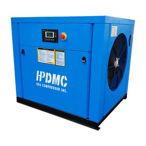 20hp Variable Speed Drive Rotary Screw Air Compressor 39cfm 230v 3 Phase 150psi