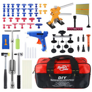 Paintless Dent Removal Puller Lifter Pdr Tool Line Board Repair Hammer Kit Xc813