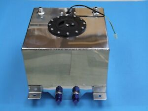 High Grade 20l 5 Gallon Aluminum Racing Drift Fuel Cell Gas Tank Level Sender