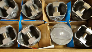 302 Ford Dome Pistons Forged L2249n Set Of 8 Standard Bore