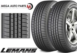 2 Lemans Touring As Ii 215 65r16 98t All Season Traction Performance A s Tires